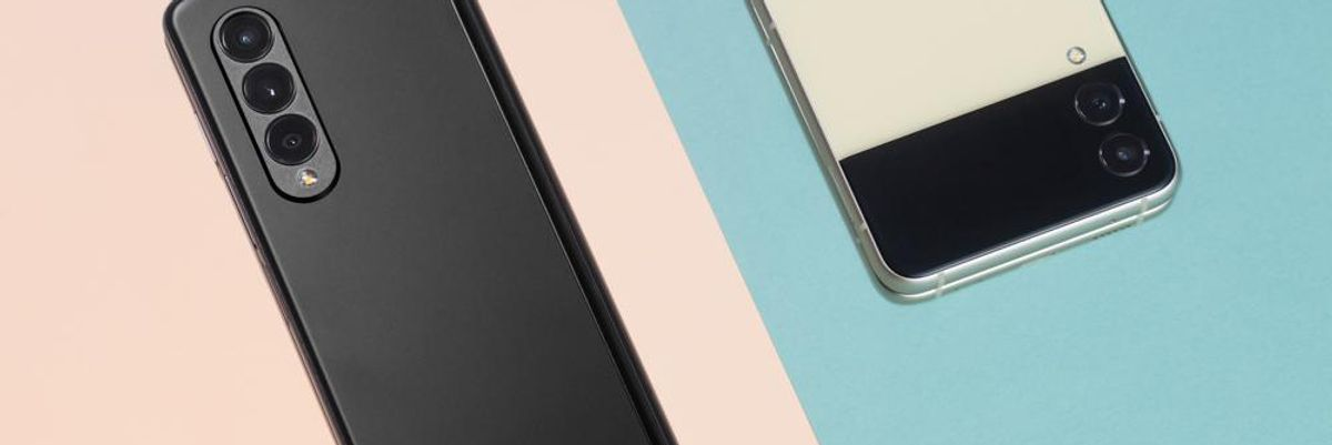 Samsung's Galaxy Z Flip 3 and Fold 3
