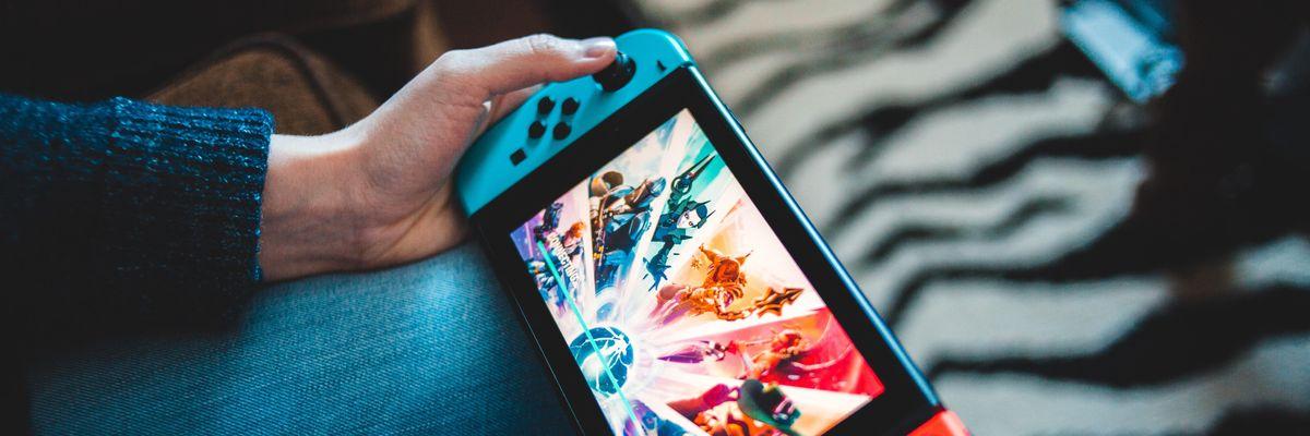 Fortnite on a Nintendo Switch