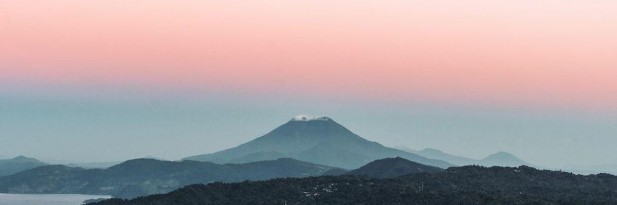 A view of El Salvador.