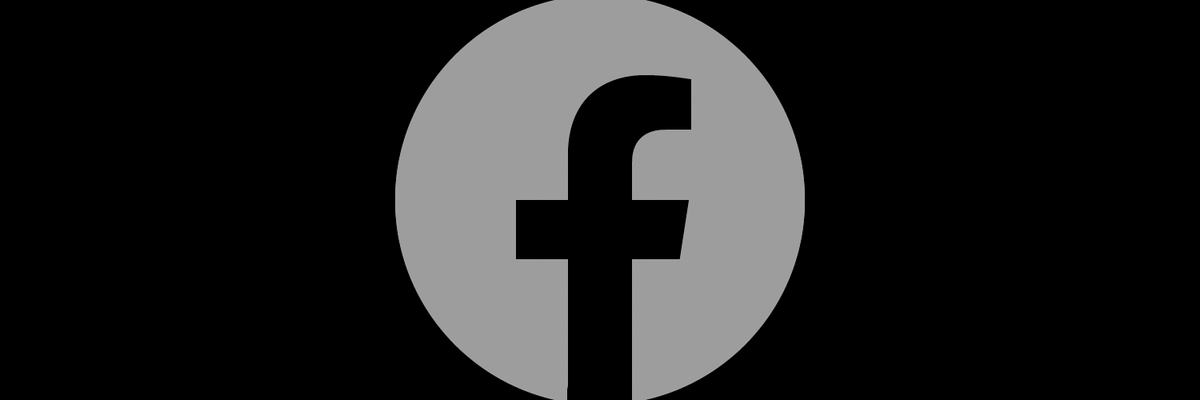 Facebook goes dark