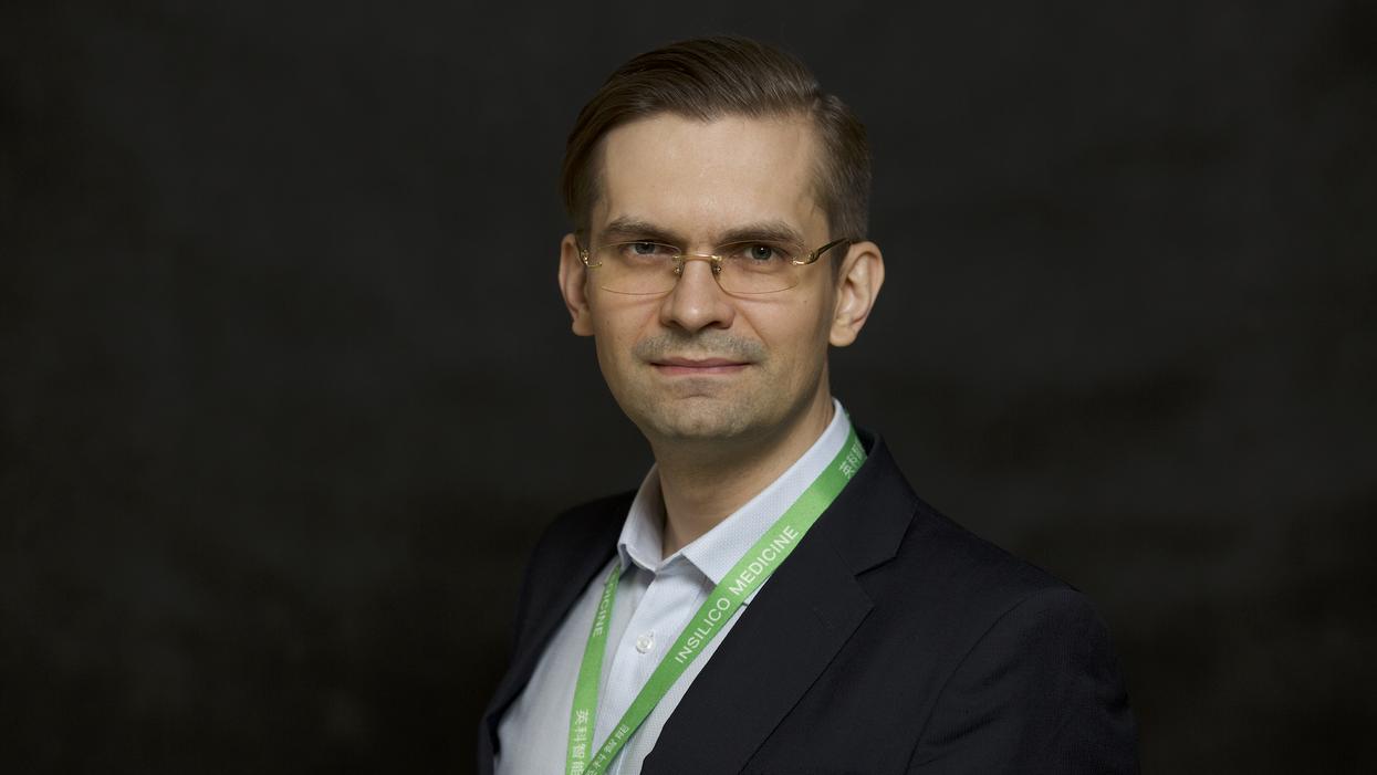 Alex Zhavoronkov, the co-founder and CEO of Insilico Medicine