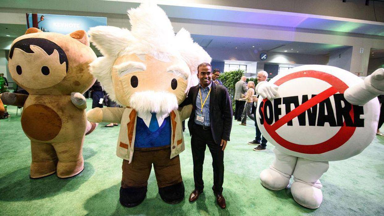 Salesforce slims down Dreamforce