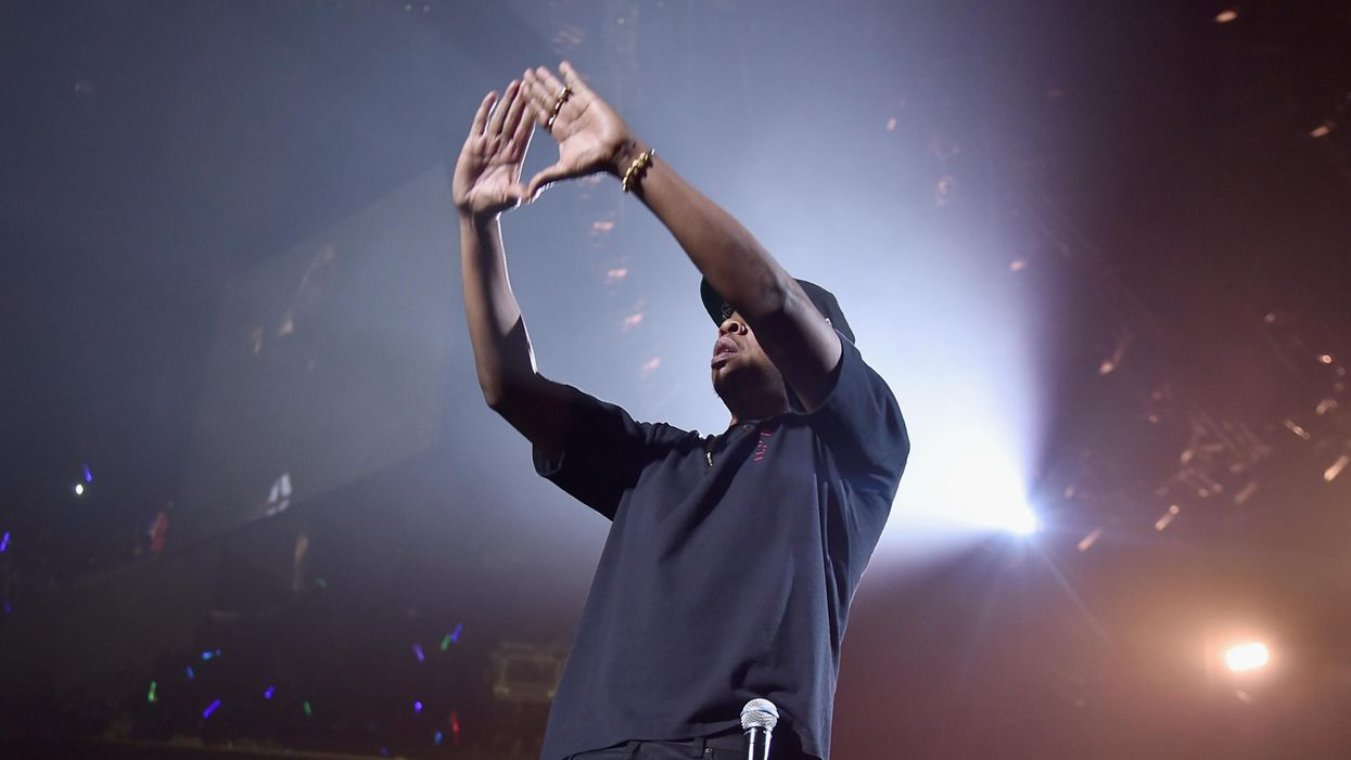 Jay-Z performs at the Tidal-X concert at the Barclays Center in Brooklyn in 2017.