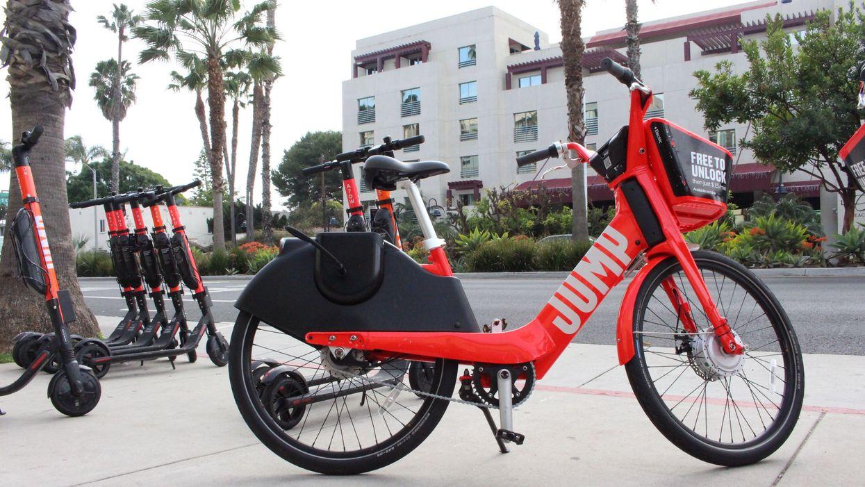 Jump bikes in Los Angeles