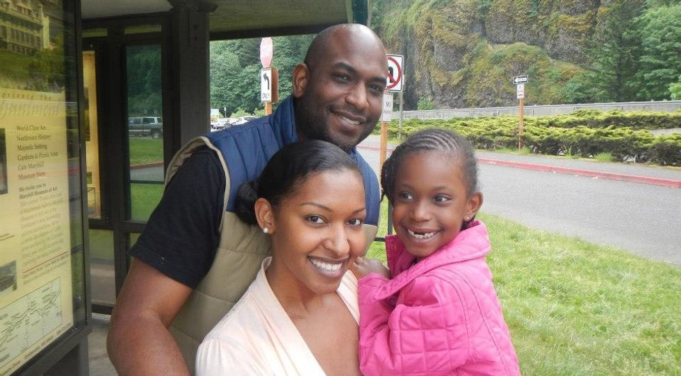 Kelsey Hightower and his family