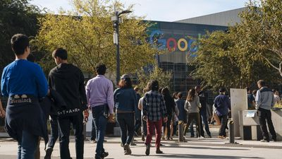 Google employees walk off the job to protest the company's handling of sexual misconduct claims