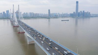 Aerial photo of Wuhan, China