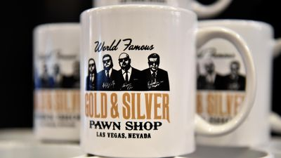 Pawn Stars branded mugs