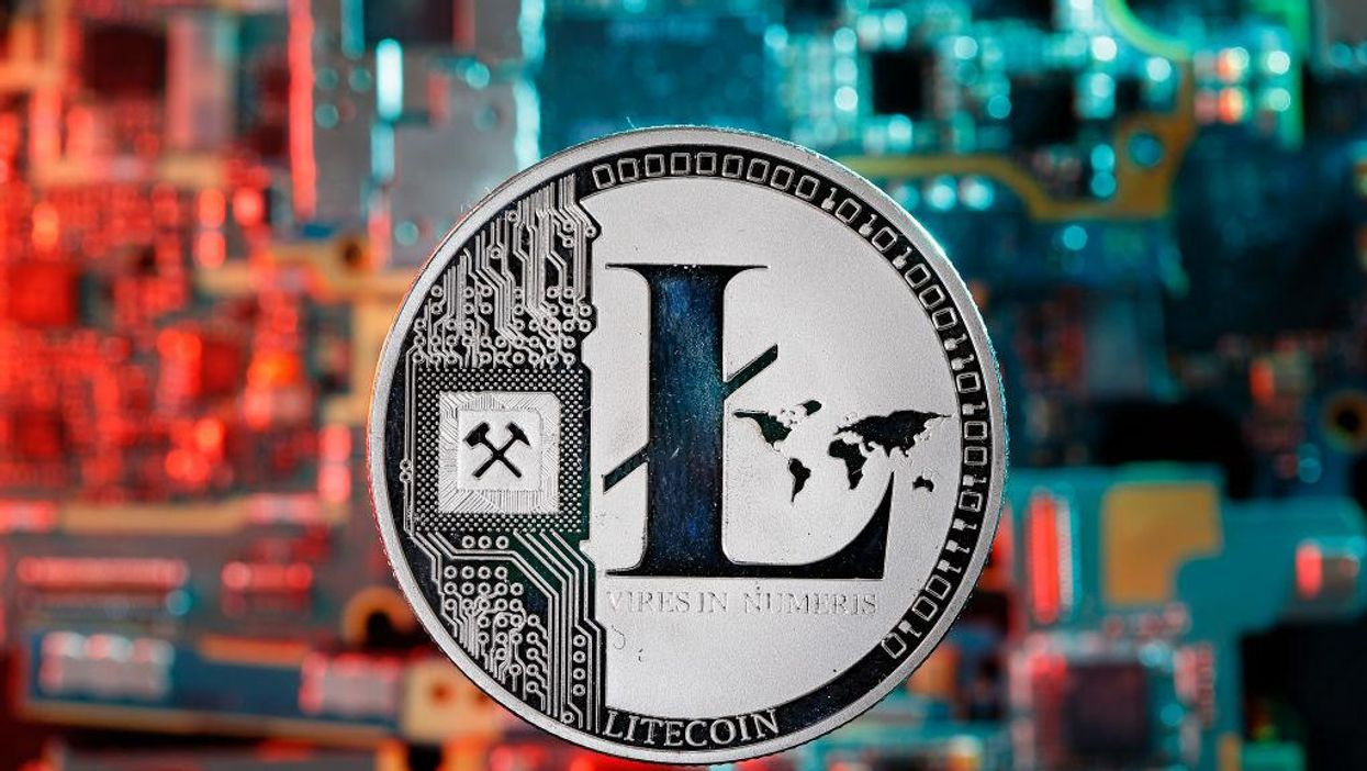 A physical representation of Litecoin