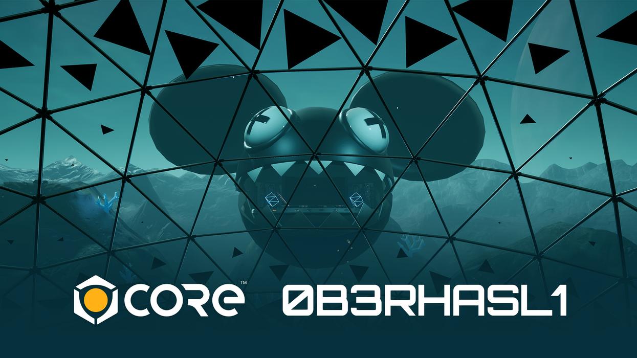 An image of deadmau5's logo.