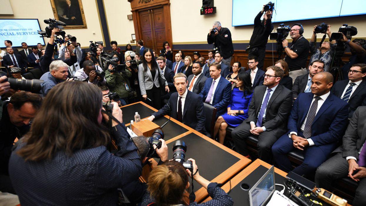 Mark Zuckberg testifies before Congress