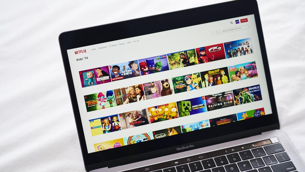 Netflix on a computer