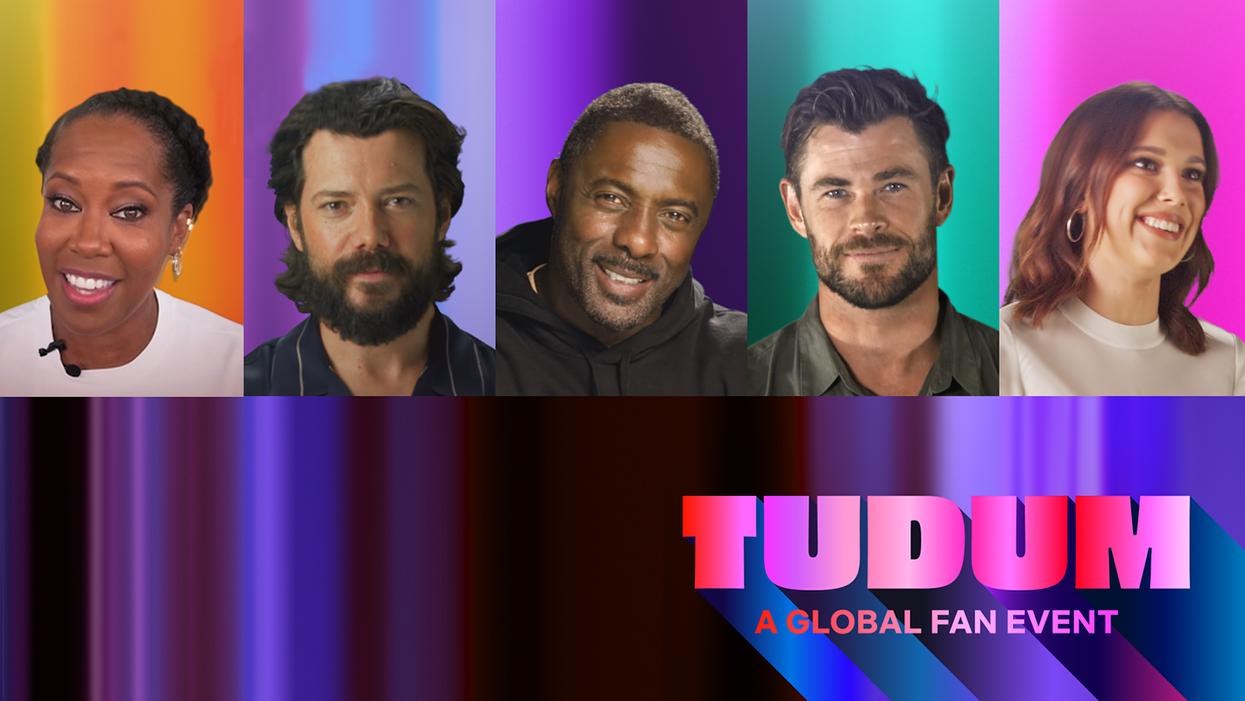 Netflix promotional image for Tudum fan event