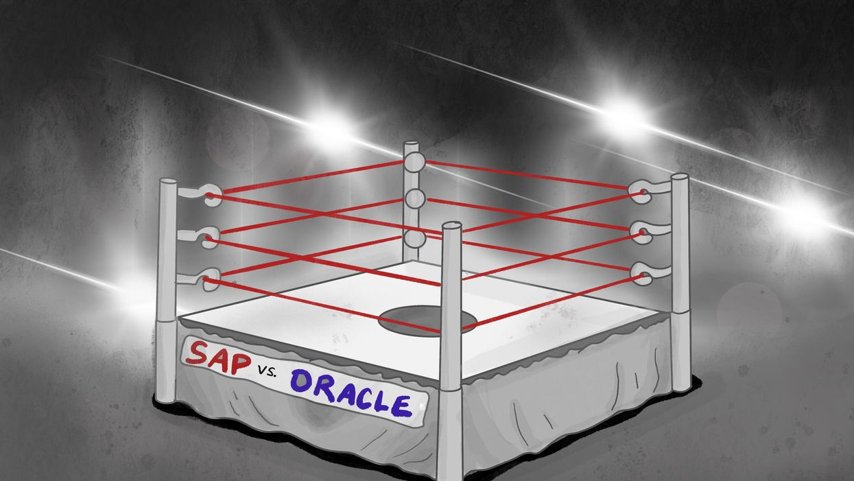 Why Oracle and SAP are fighting over startups