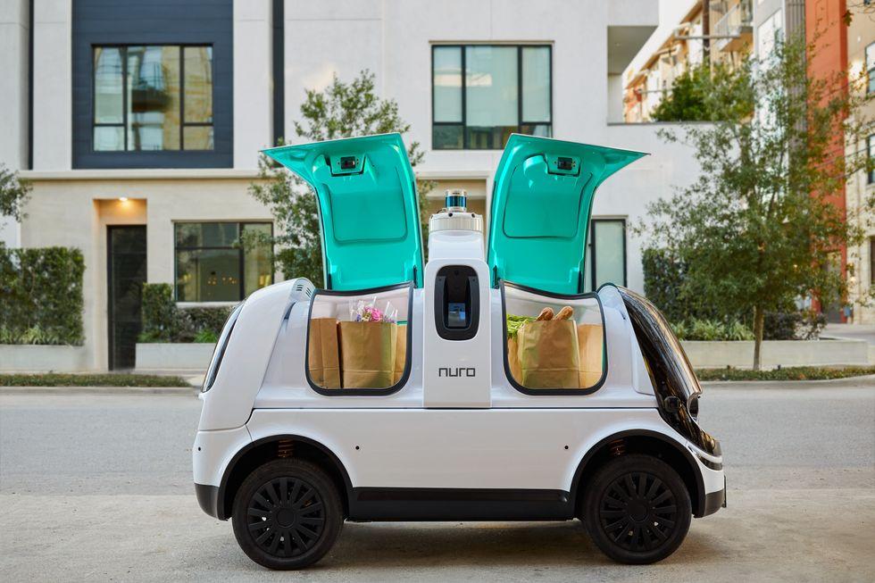 Nuro's R2 vehicle