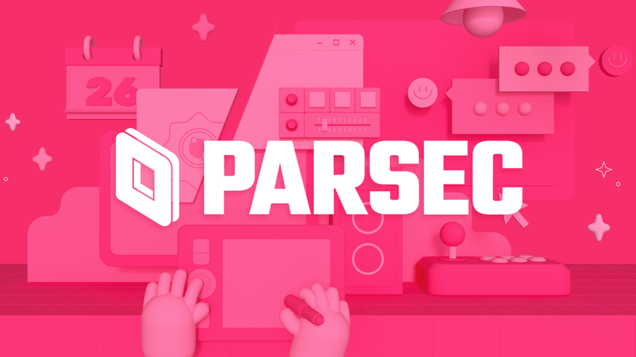 An image of the Parsec logo.