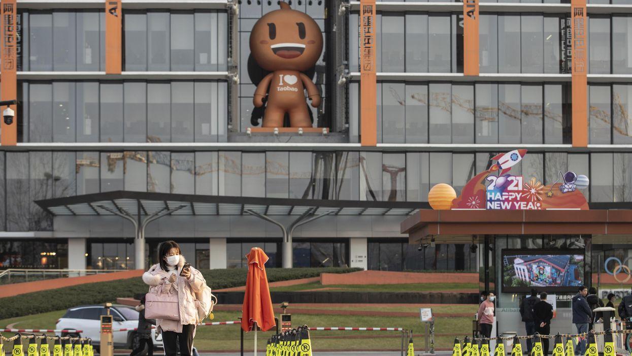 Chinese tech companies sign antitrust pledge