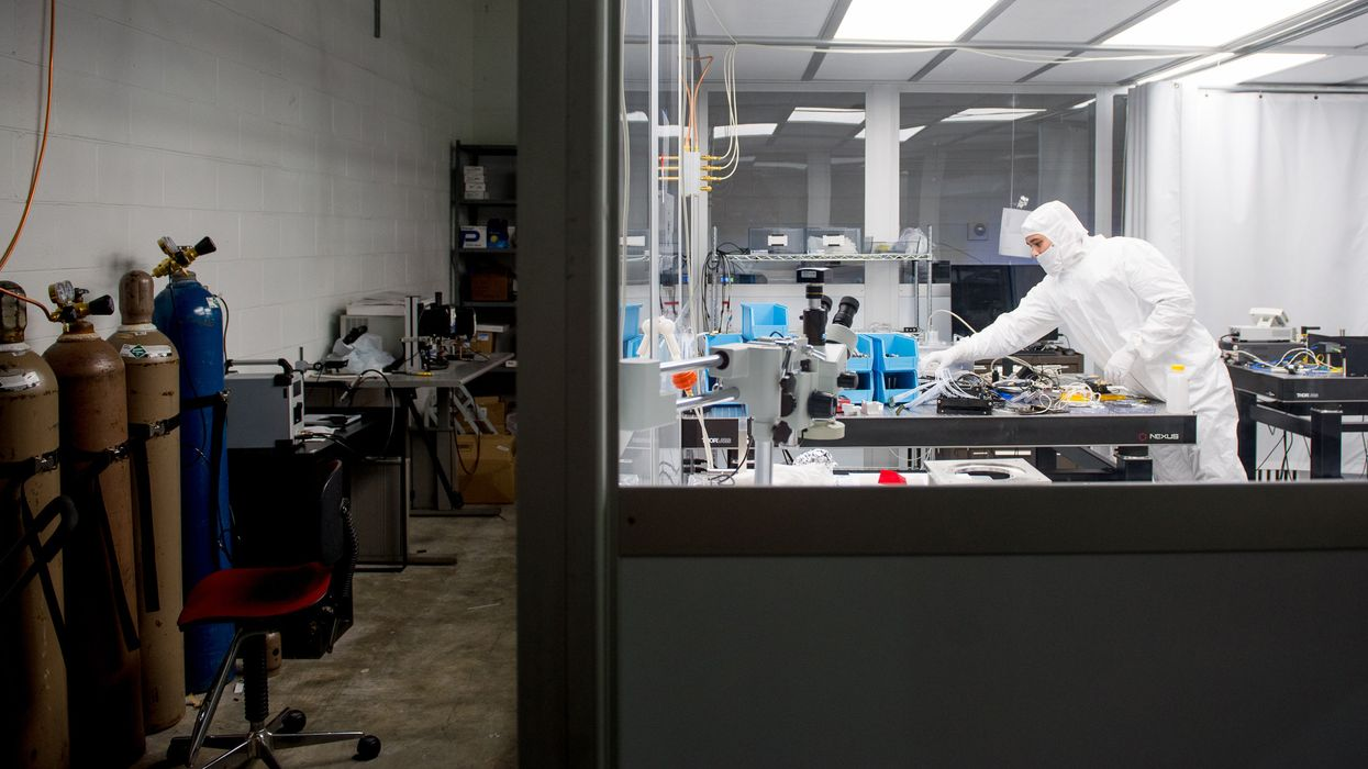 The labs of Quantum startup IonQ