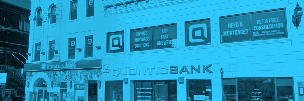 Quontic bank storefront