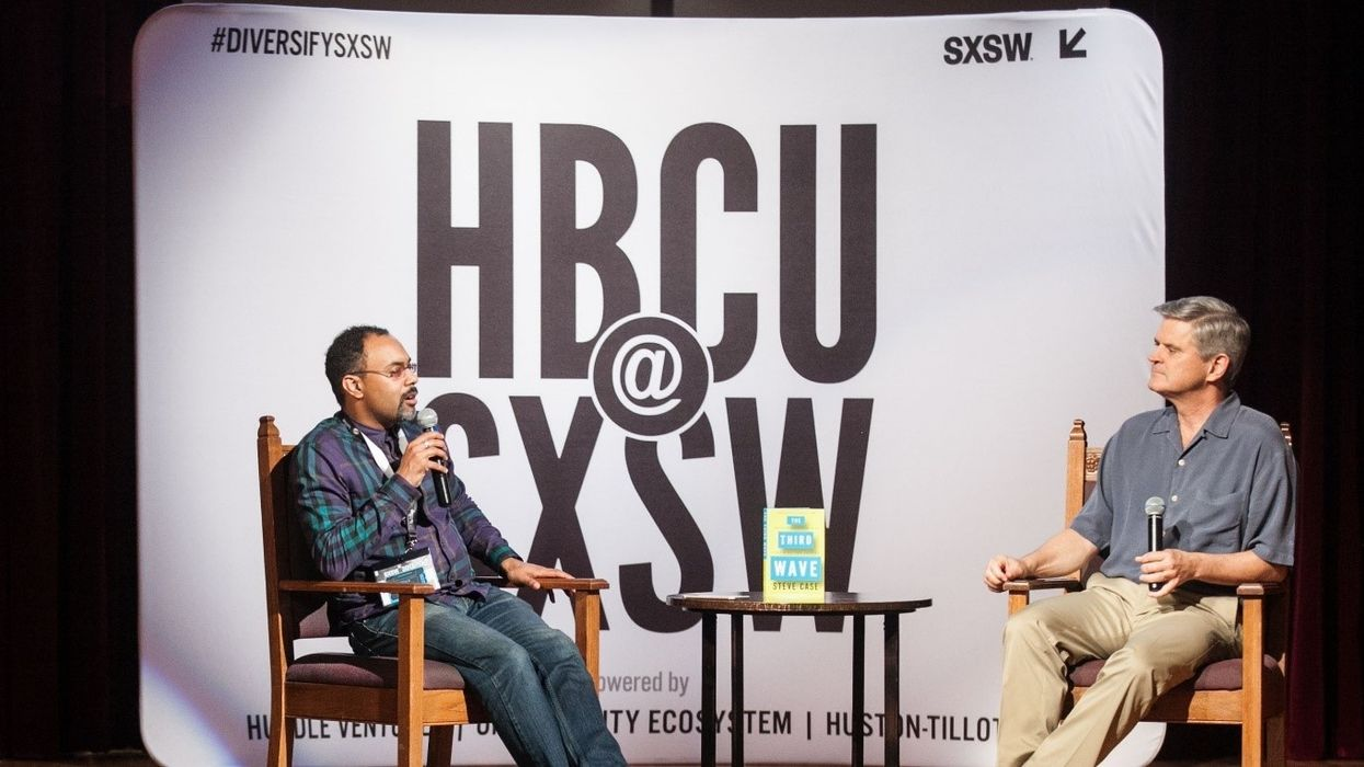Less than 1% of VC goes to Black founders. Steve Case and Rodney Sampson want to change that.