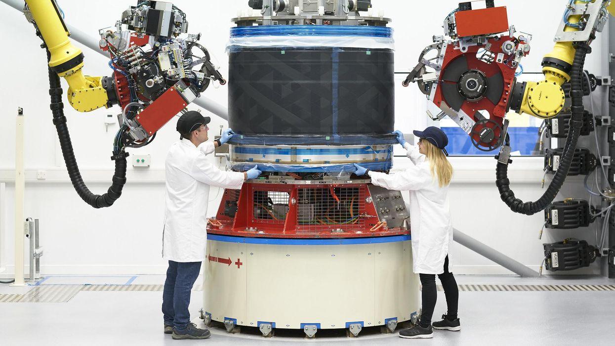 Rolls-Royce workers.
