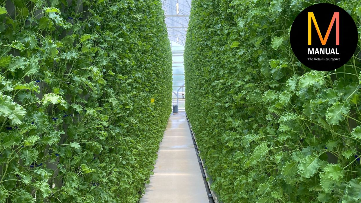 The future of food is being farmed in a warehouse down the road