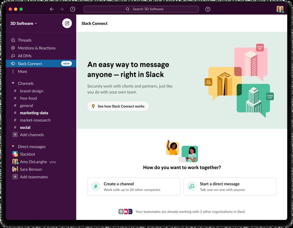 Slack Connect Hub