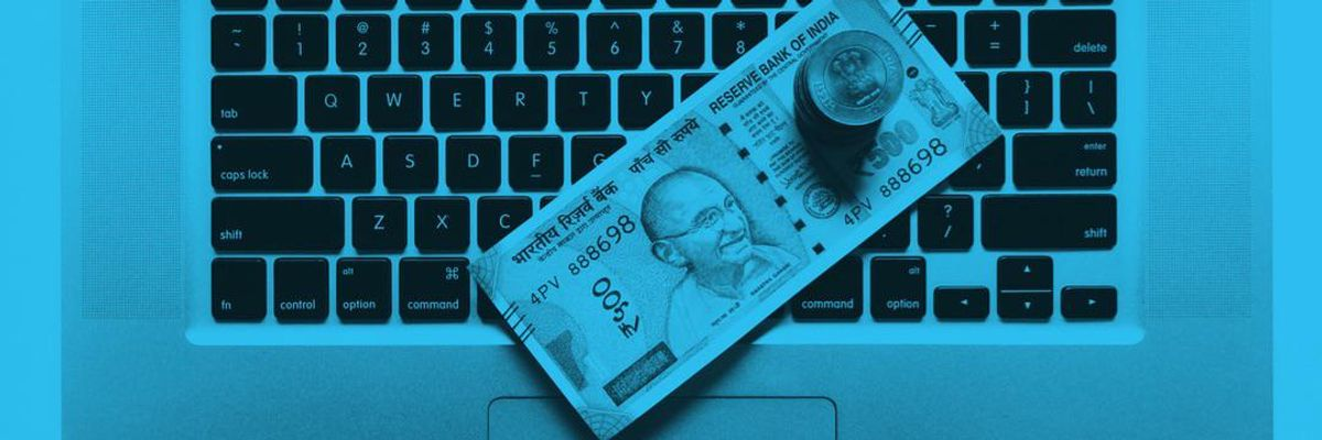 SoftBank is banking on an Indian startup.
