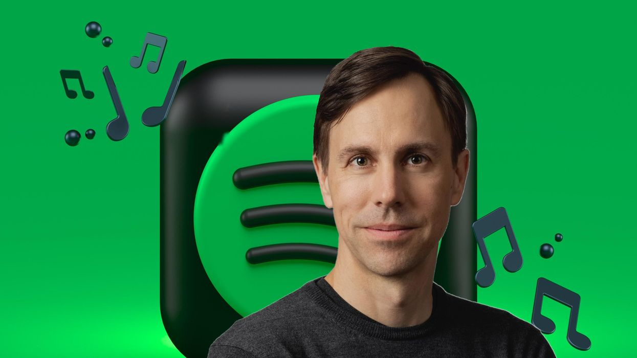 Spotify's Tyson Singer sees nothing wrong with sticking with Google.
