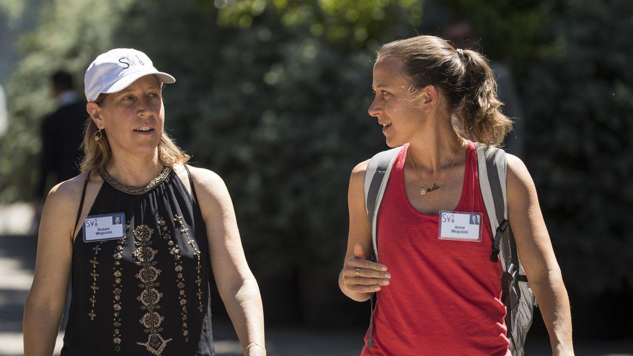 Susan and Anne Wojcicki