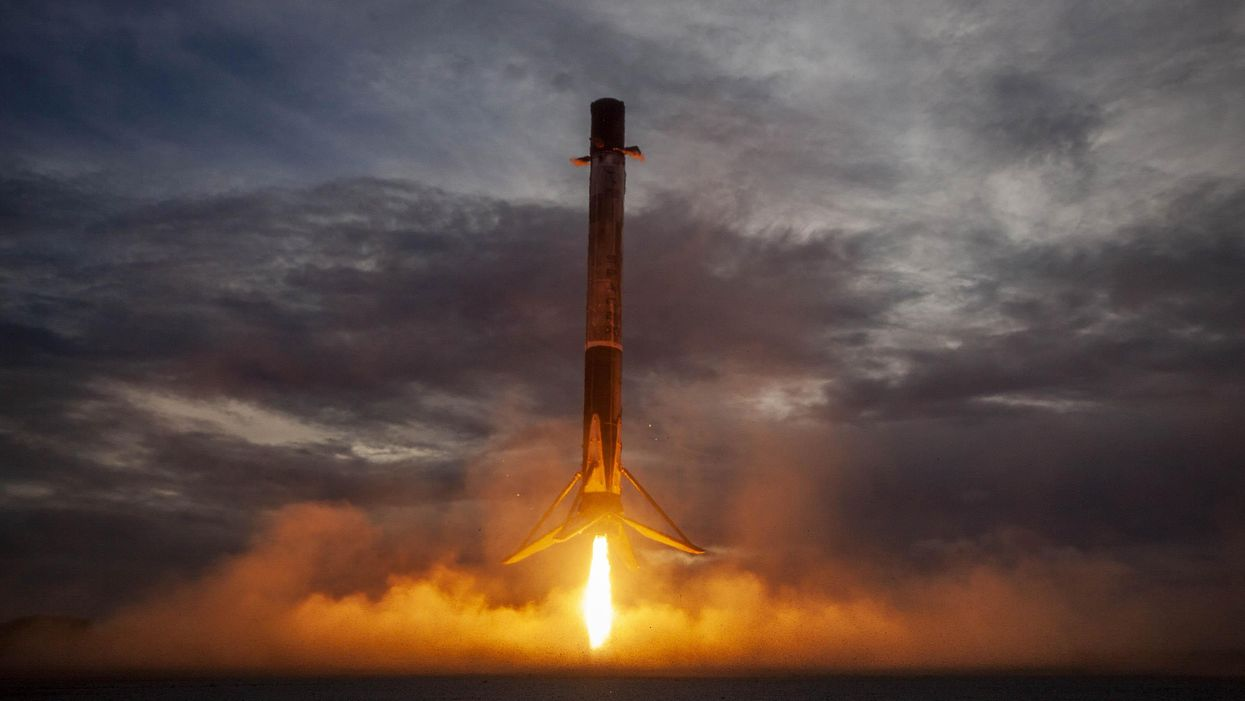 'Everyone's in the space industry. They just don't know it yet.'