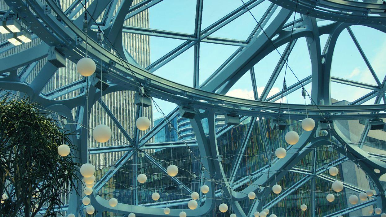 The Amazon Spheres are part of Amazon's Seattle headquarters.