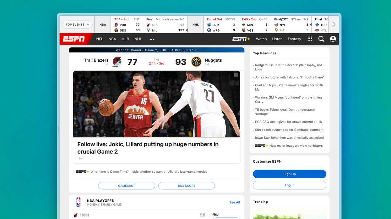 A screenshot of the Arc browser