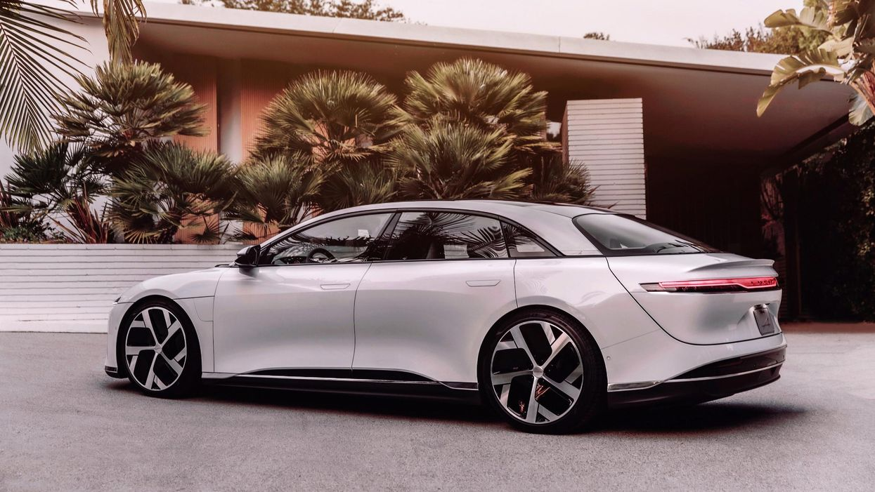The Lucid Air beat Tesla to become the king of EV range