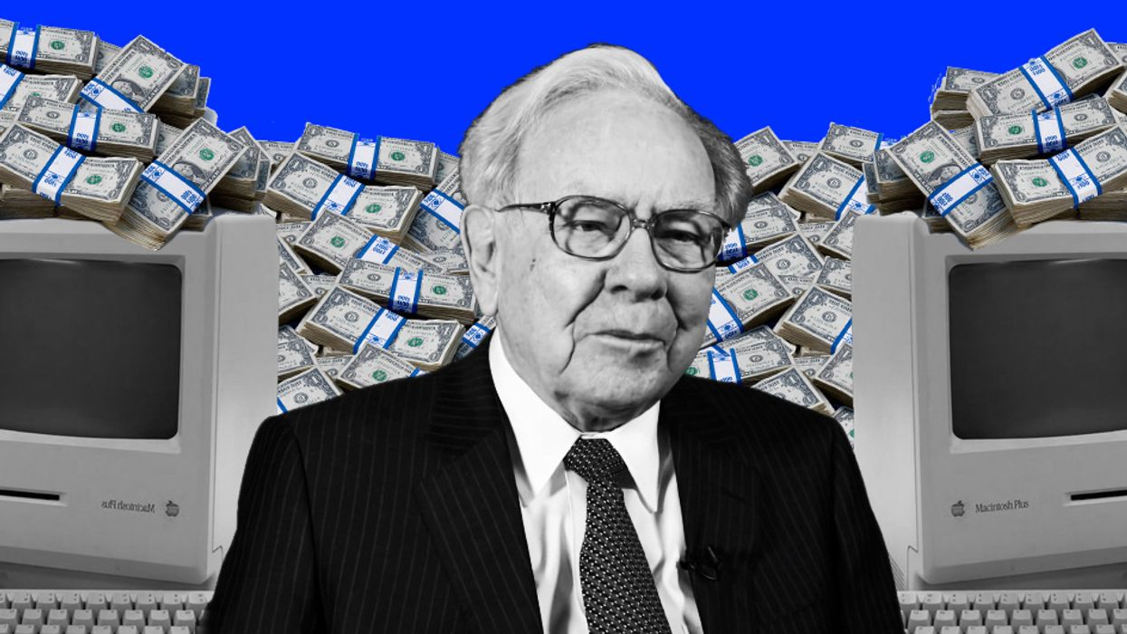 Berkshire Hathaway's share prices literally broke the stock market