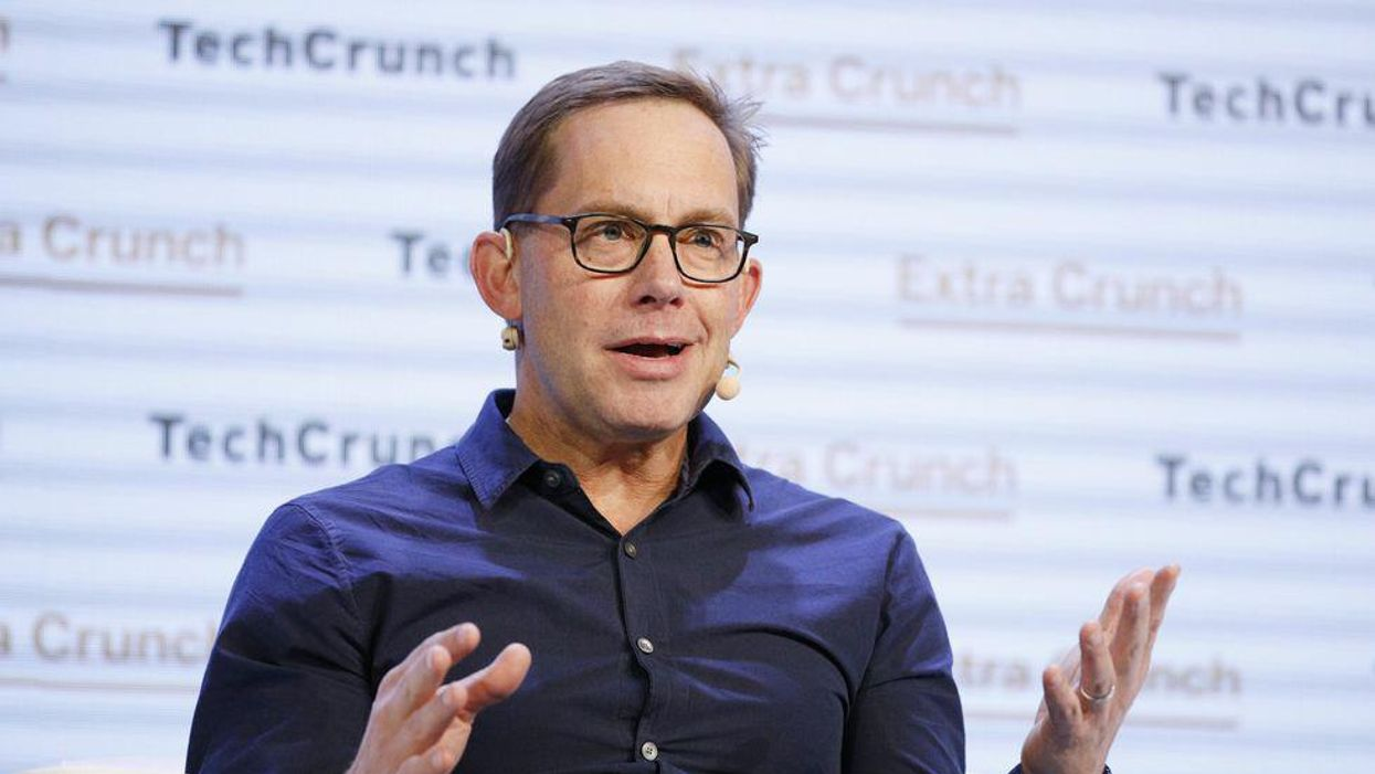 Chime CEO Chris Britt says his company's not a bank.
