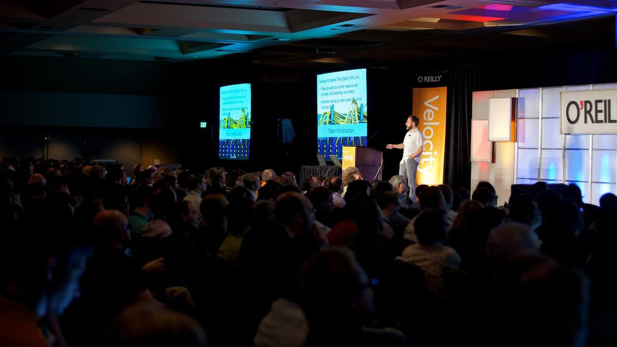 the Velocity conference in San Jose in 2010