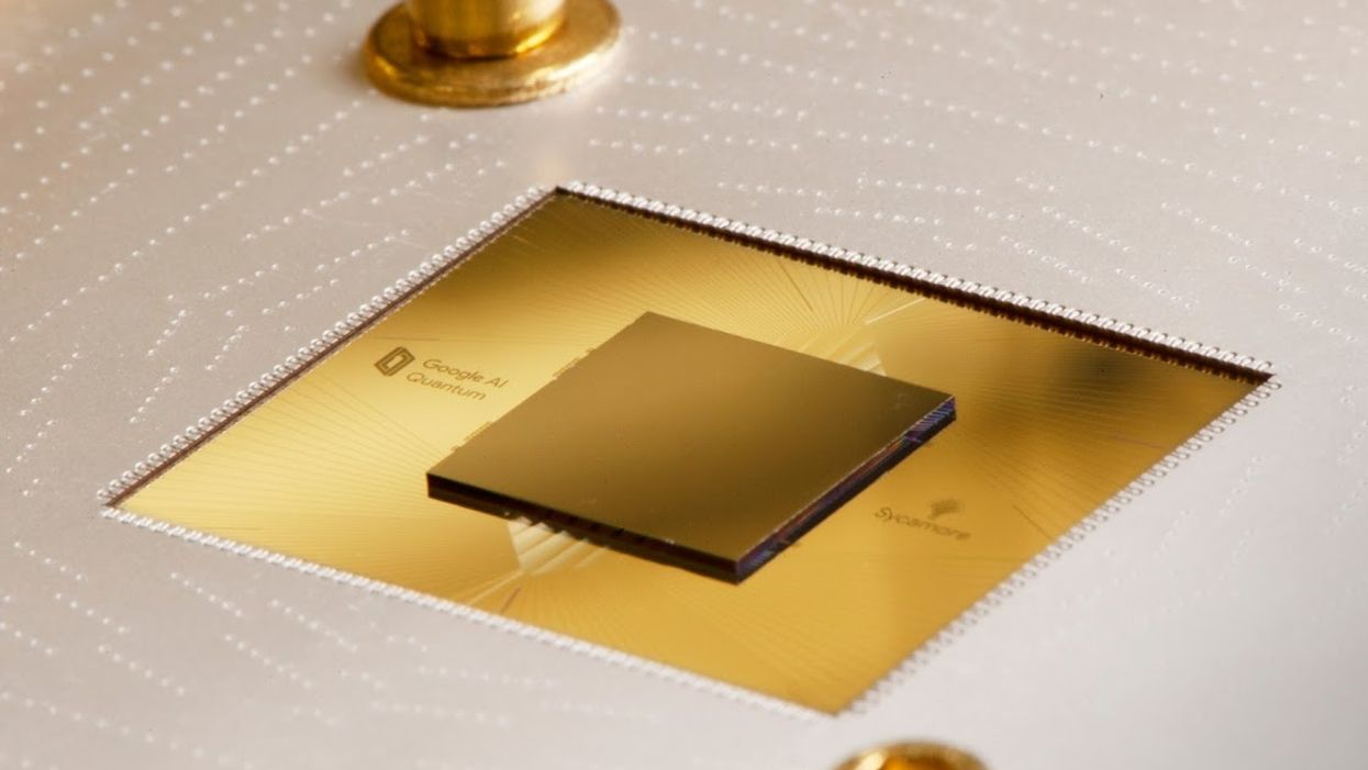 Google's Sycamore quantum chip
