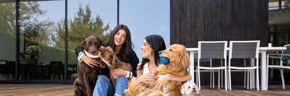 TikTok star Charli D'Amelio and her family