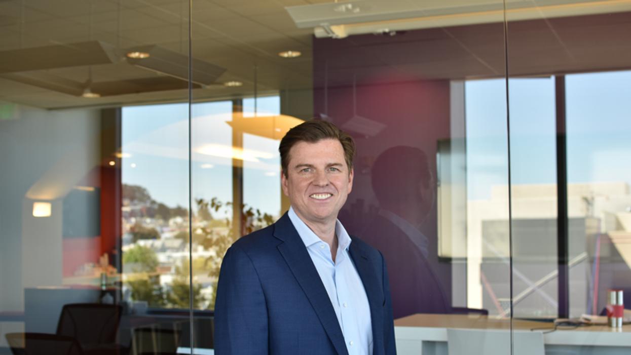 Tony Bates, CEO of Genesys