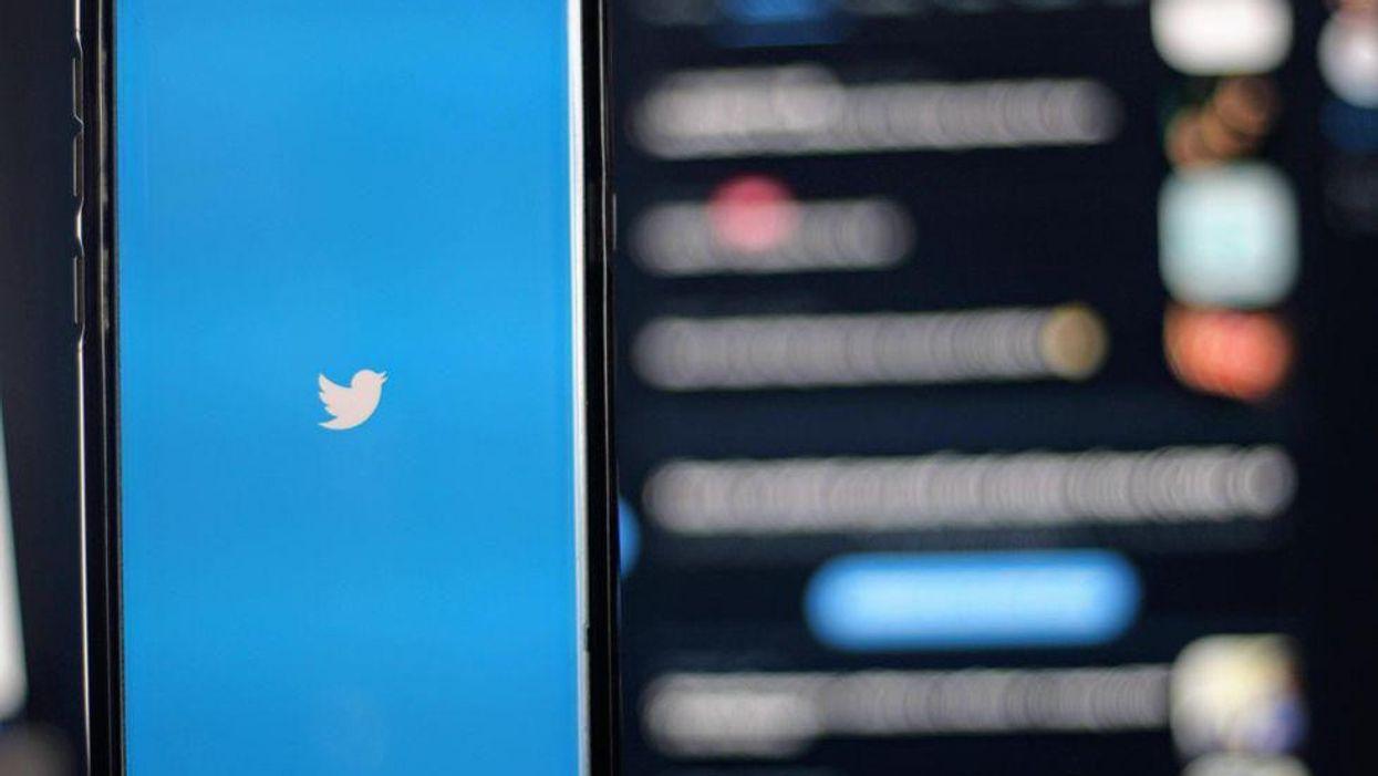 The Twitter app.