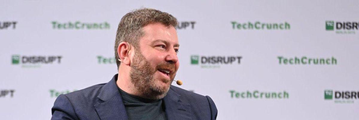 UiPath CEO Daniel Dines speaks at TechCrunch Disrupt Berlin in 2019.