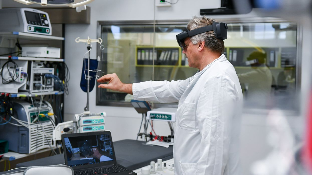 Using AR to assist in medical procedures
