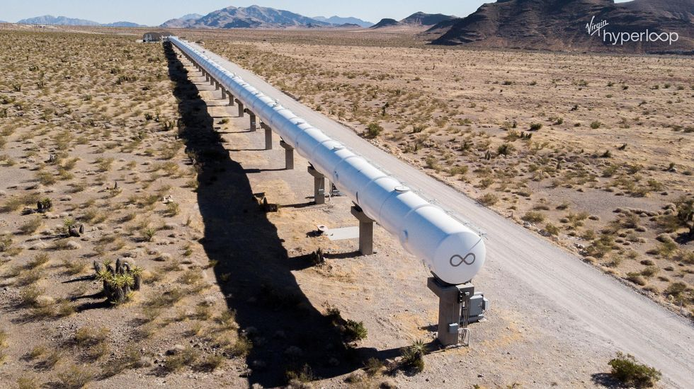 Virgin Hyperloop test track