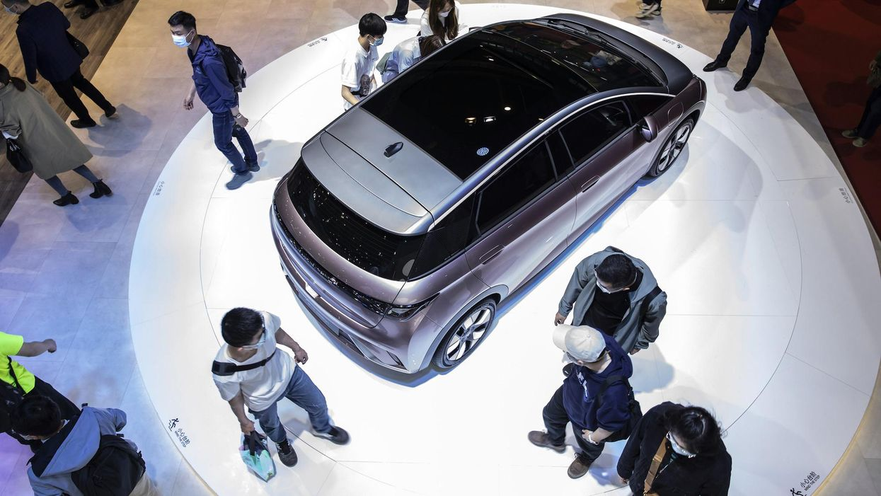 Every Chinese tech company wants to make EVs